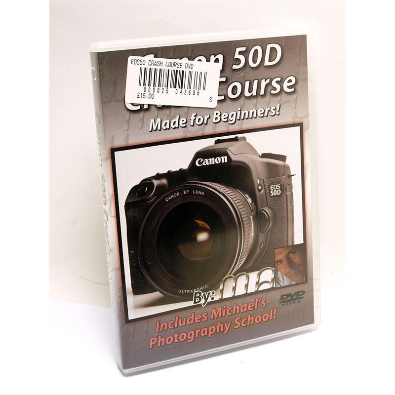 Blue Crane Canon EOS 50D Training DVD Image 1