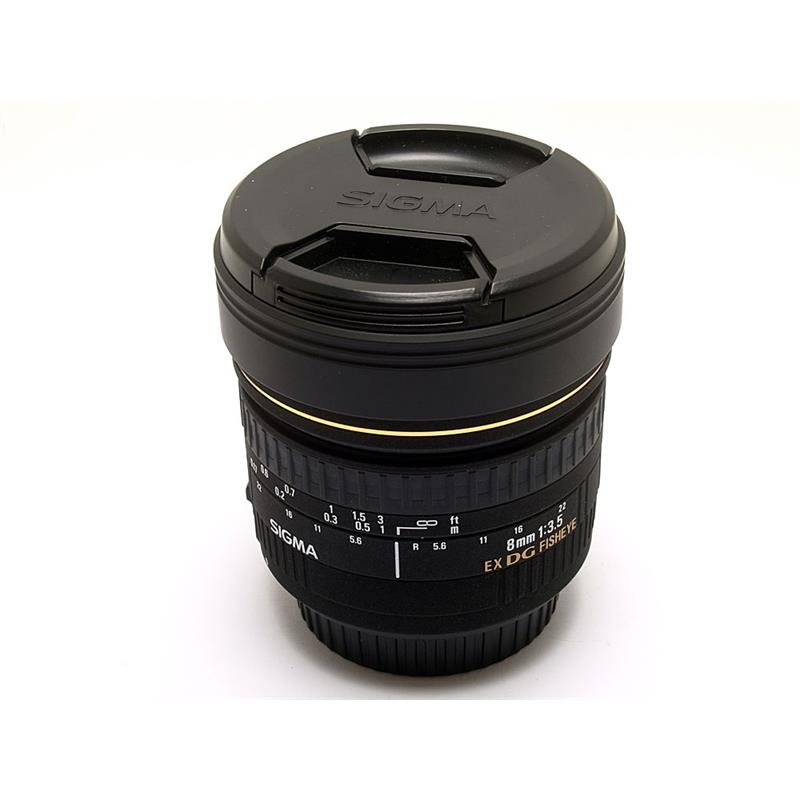 Sigma 8mm F3.5 EX DG Fisheye - Canon EOS Thumbnail Image 0