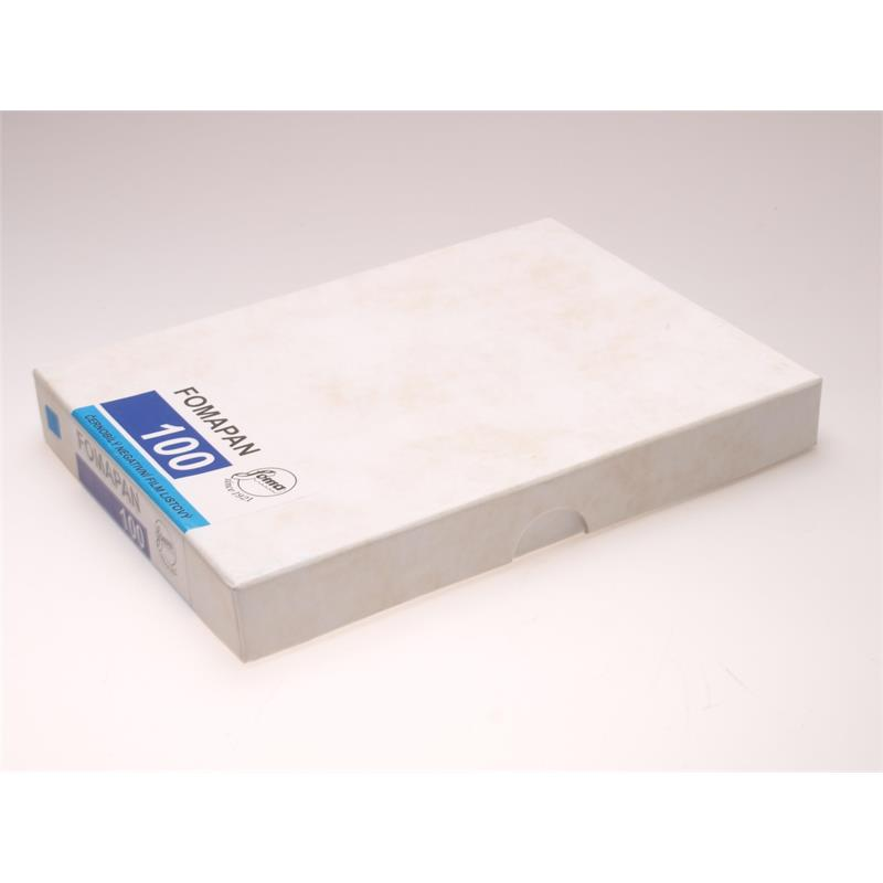 "Fomapan 100 Classic 4x5"" 50 sheets Image 1"