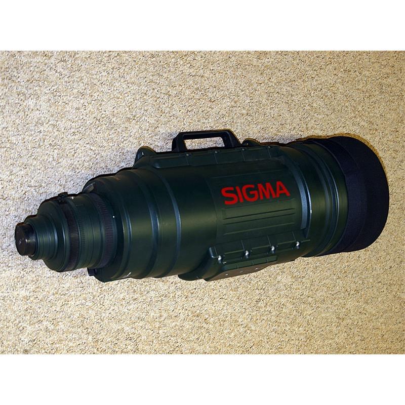 Sigma 200-500mm f2.8 APO EX DG - Nikon AF Thumbnail Image 0