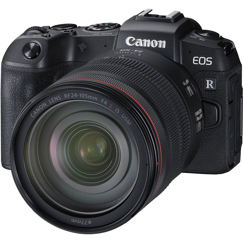 Canon EOS RP + 24-105mm RF + Mount Adapter EF - Voucher Code CAN200 Thumbnail Image 0