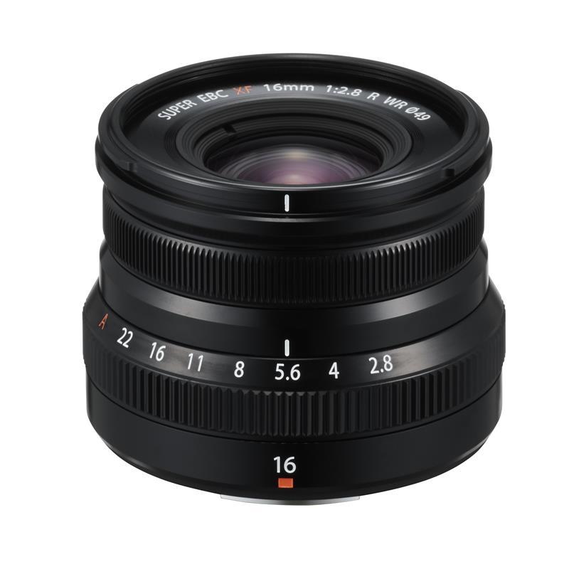 Fujifilm 16mm f2.8 R WR XF - Black Thumbnail Image 1