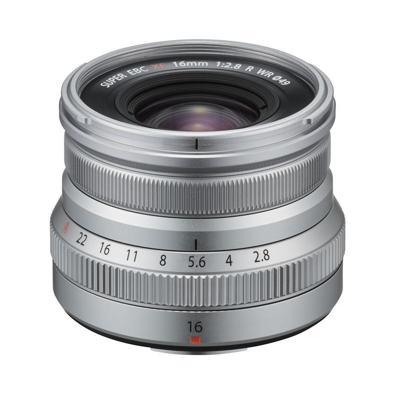Fujifilm 16mm f2.8 R WR XF - Silver Thumbnail Image 1