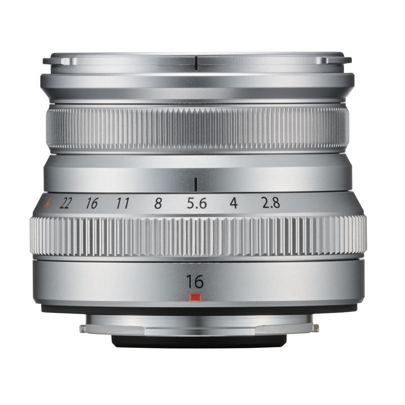 Fujifilm 16mm f2.8 R WR XF - Silver Thumbnail Image 0