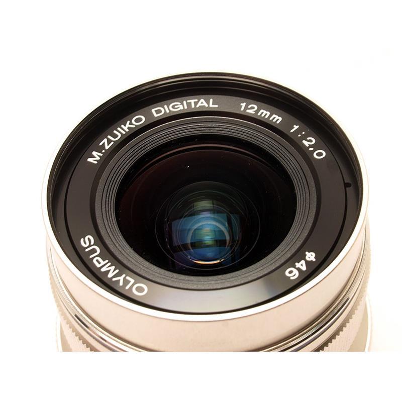 Olympus 12mm F2 ED M.Zuiko - Silver Thumbnail Image 1