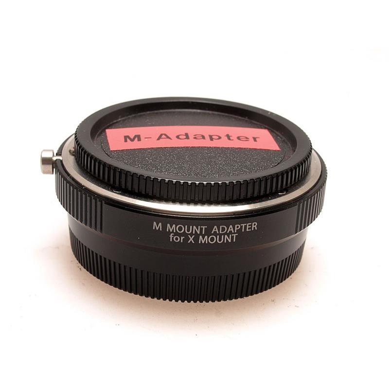 Fujifilm M Mount Adapter Thumbnail Image 0
