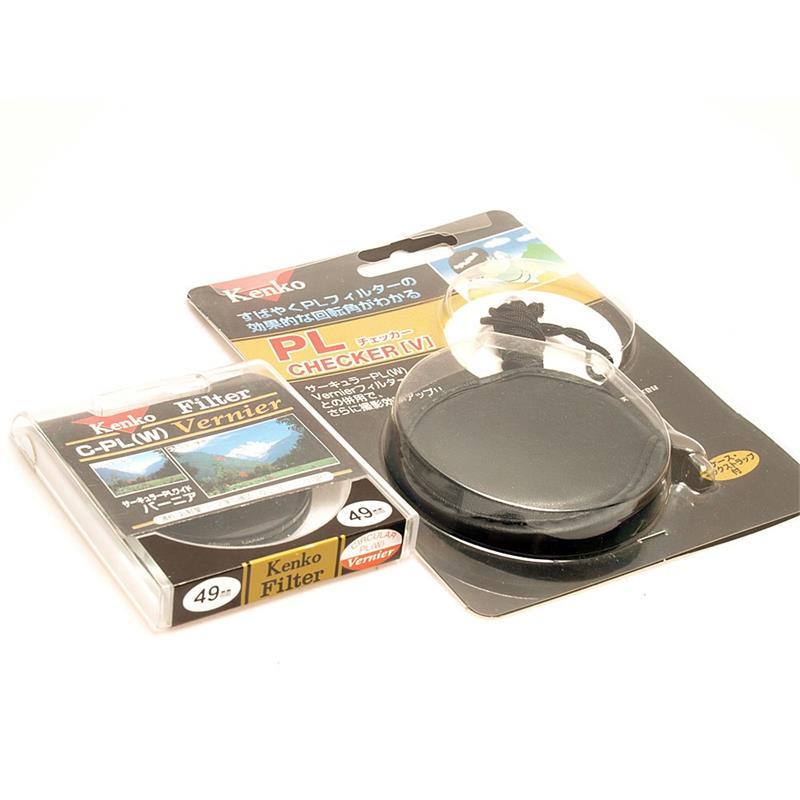 Kenko 58mm Circular Polariser + Checker Image 1