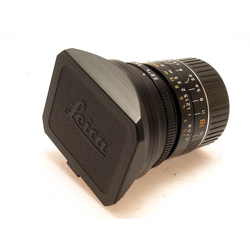 Leica 18mm F3.8 Asph M Black Thumbnail Image 0