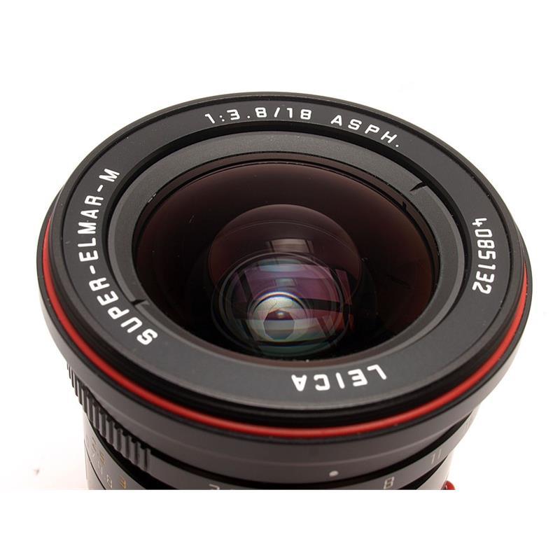 Leica 18mm F3.8 Asph M Black Thumbnail Image 1
