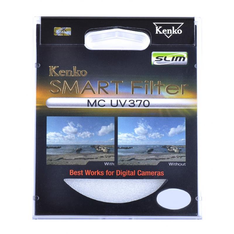Kenko 62mm Smart Filter MC UV370 Slim Image 1