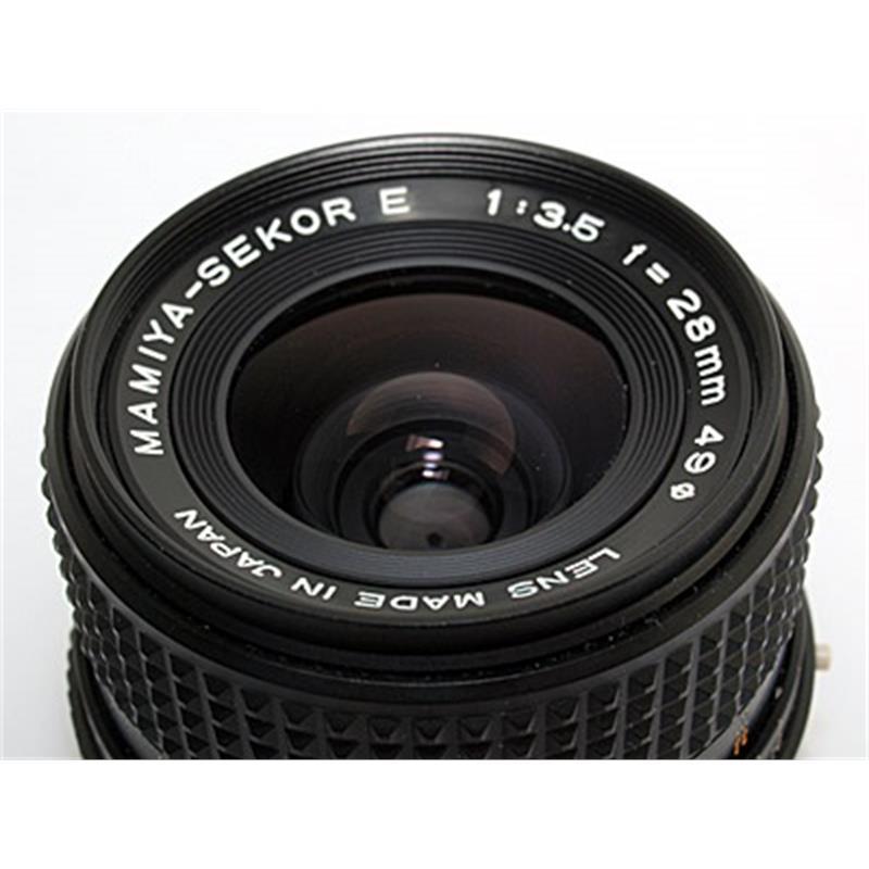 Mamiya 28mm F3.5 Sekor E Thumbnail Image 0