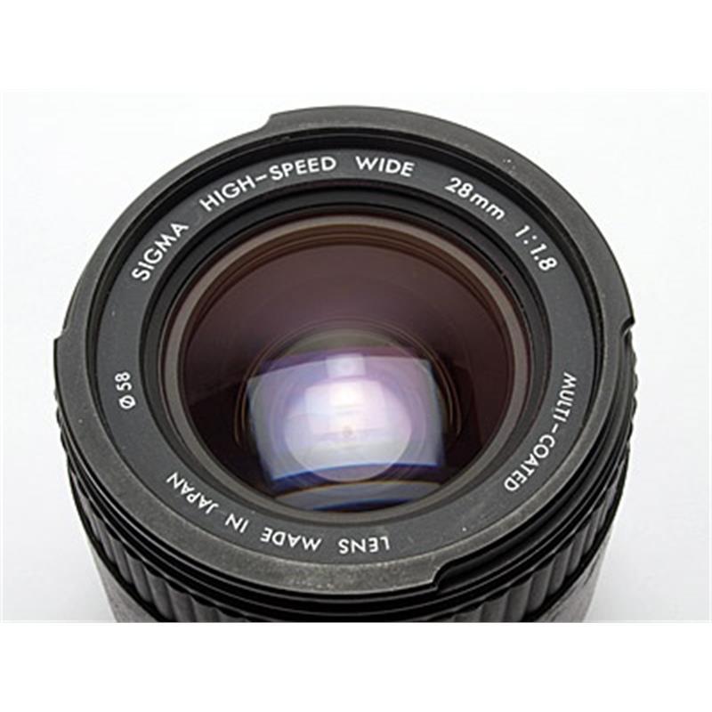 Sigma 28mm F1.8 Asph - Sony AF Thumbnail Image 2