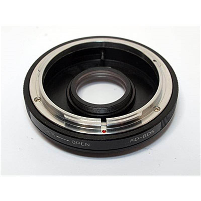 JJC Canon FD - Canon EOS M Lens Mount Adapter Image 1