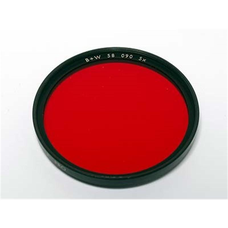 B+W 58mm Red (090) - Single Coated Image 1