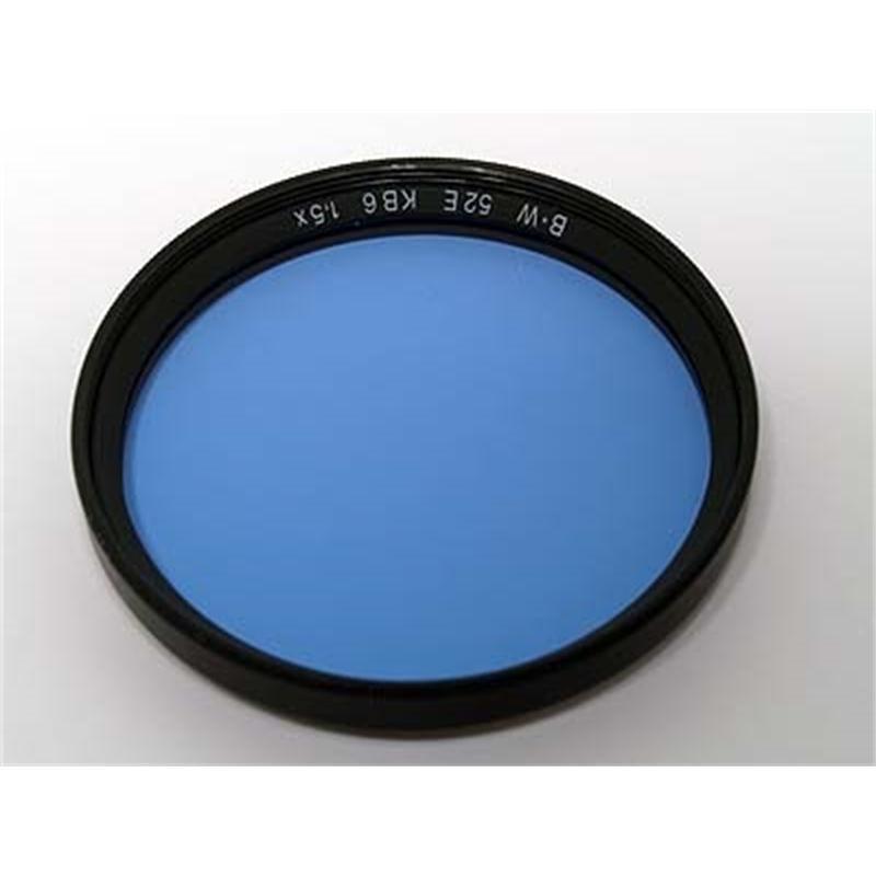 B+W 52mm Blue KB6 (80D) - Single Coated Thumbnail Image 1