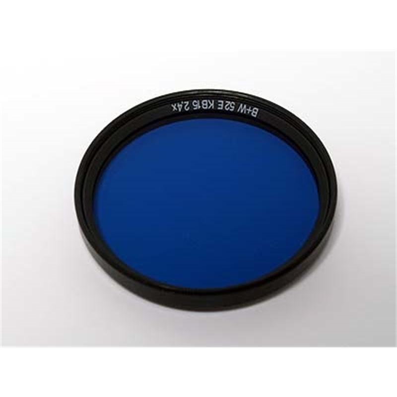 B+W 52mm Blue KB15 (80A) SC Thumbnail Image 0