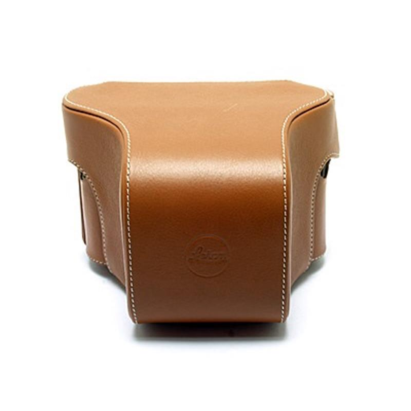 Leica 14890 Ever Ready Case with Small front (Cognac) Thumbnail Image 1
