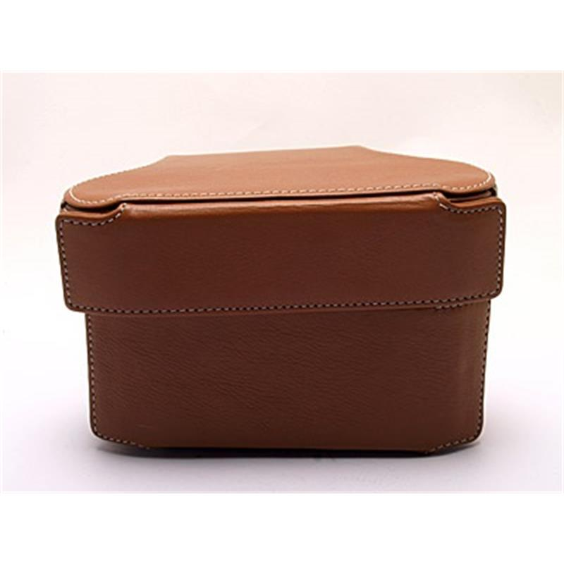 Leica 14890 Ever Ready Case with Small front (Cognac) Thumbnail Image 2