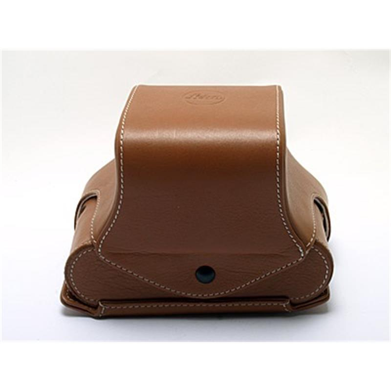 Leica 14890 Ever Ready Case with Small front (Cognac) Thumbnail Image 0