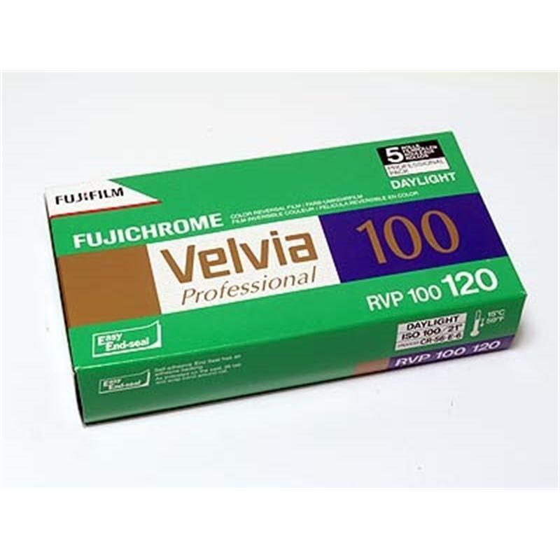 Fujifilm Velvia 100 120 Roll Film x1  SALE £10.99 Image 1