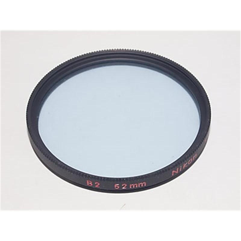 Nikon 52mm Blue B2 Image 1