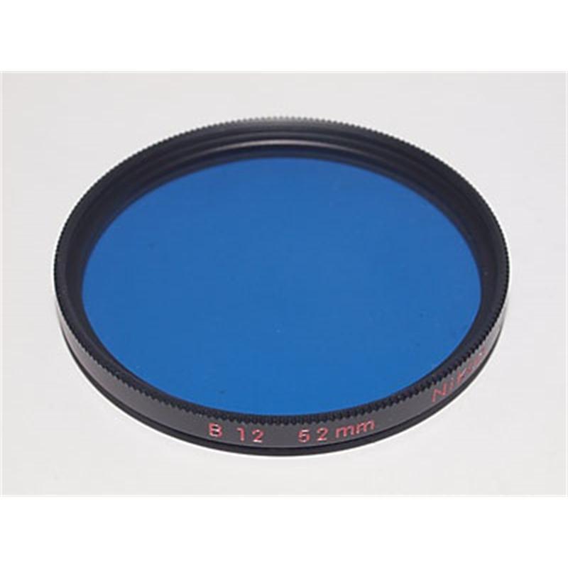 Nikon 52mm Blue B12  Image 1