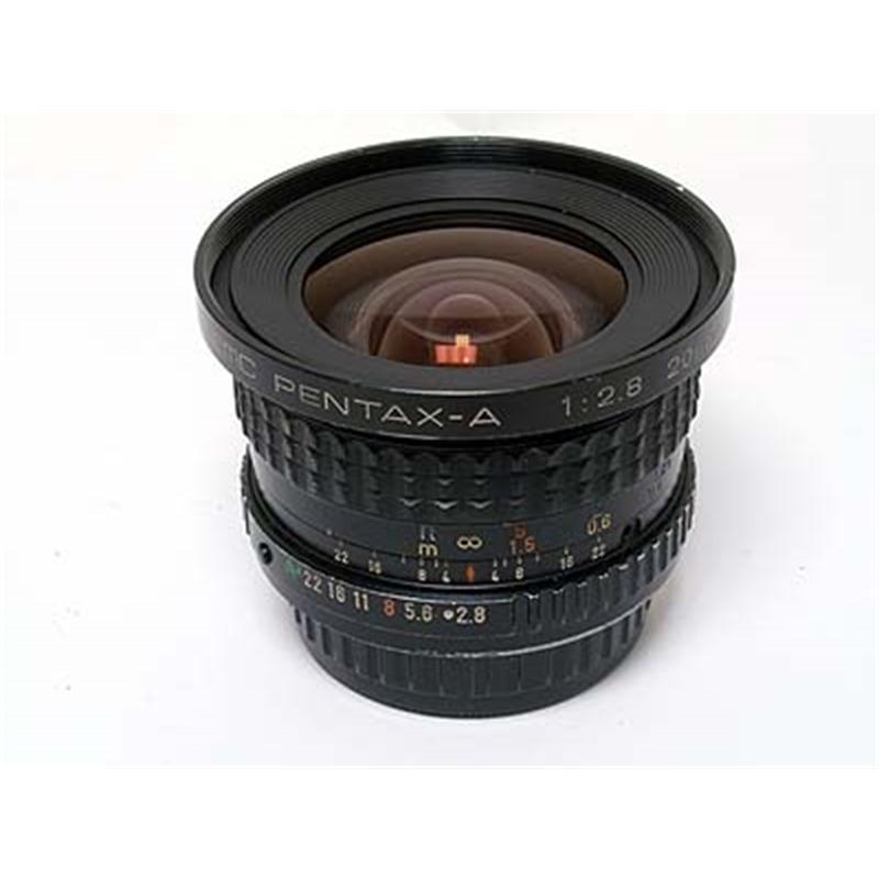 Pentax 20mm F2.8 SMC A Thumbnail Image 1