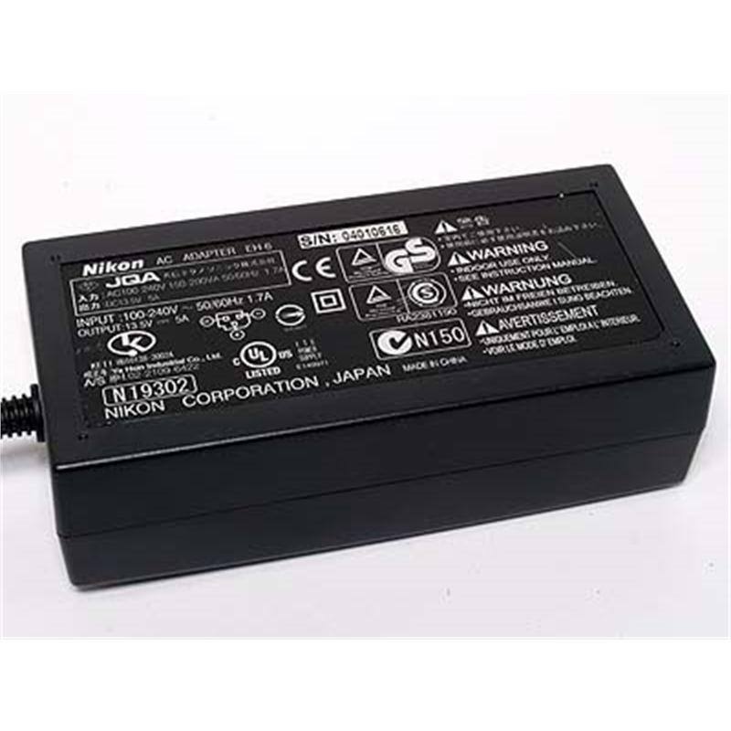 Nikon EH6 AC Adapter D2H,D2Hs,D2X,D2Xs,D3,D3S,D3X,D200)  Thumbnail Image 1