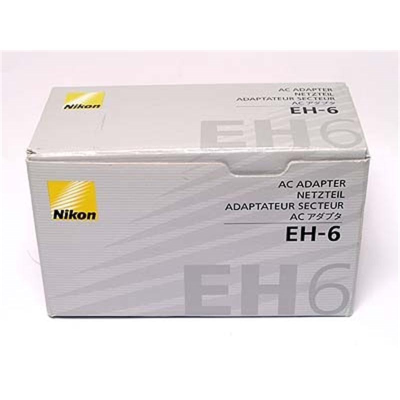 Nikon EH6 AC Adapter D2H,D2Hs,D2X,D2Xs,D3,D3S,D3X,D200)  Thumbnail Image 2