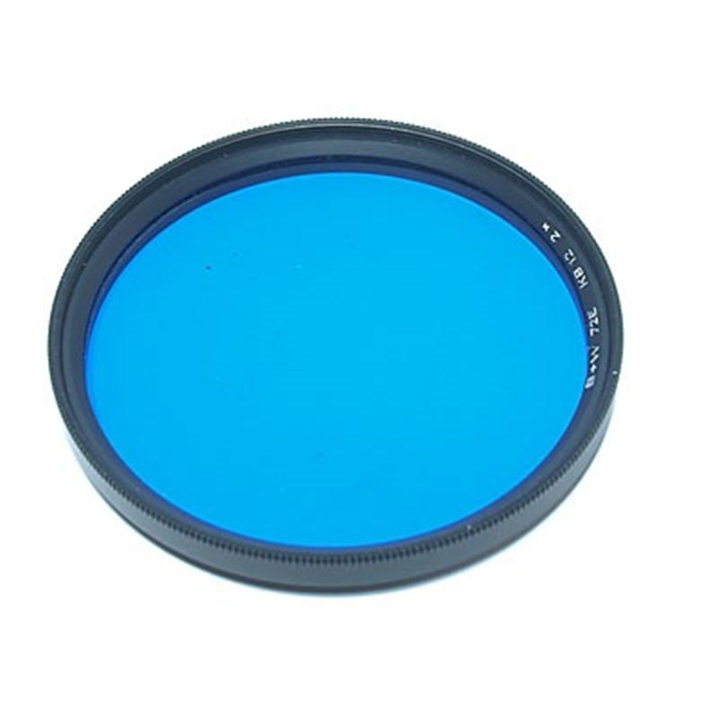 B+W 72mm Blue KB12  Image 1