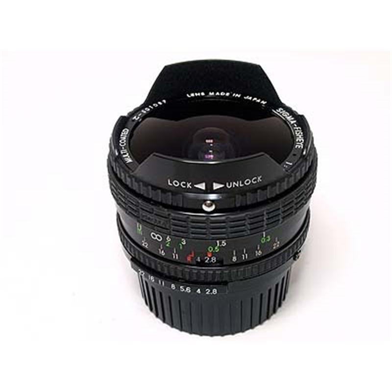 Sigma 16mm F2.8 Fisheye Thumbnail Image 1