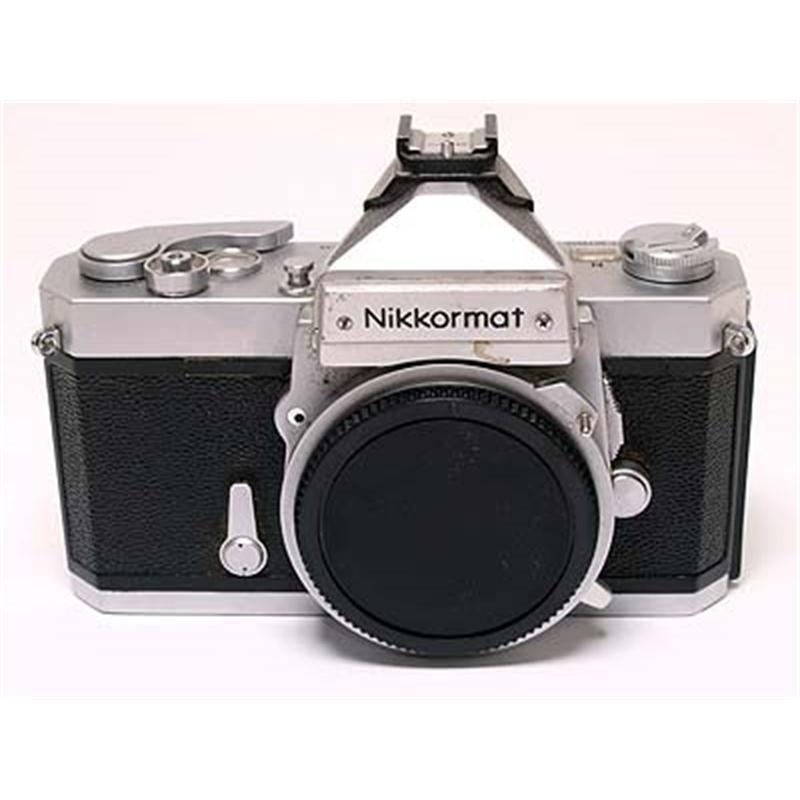 Nikkormat FTN Body Only - Chrome Thumbnail Image 0