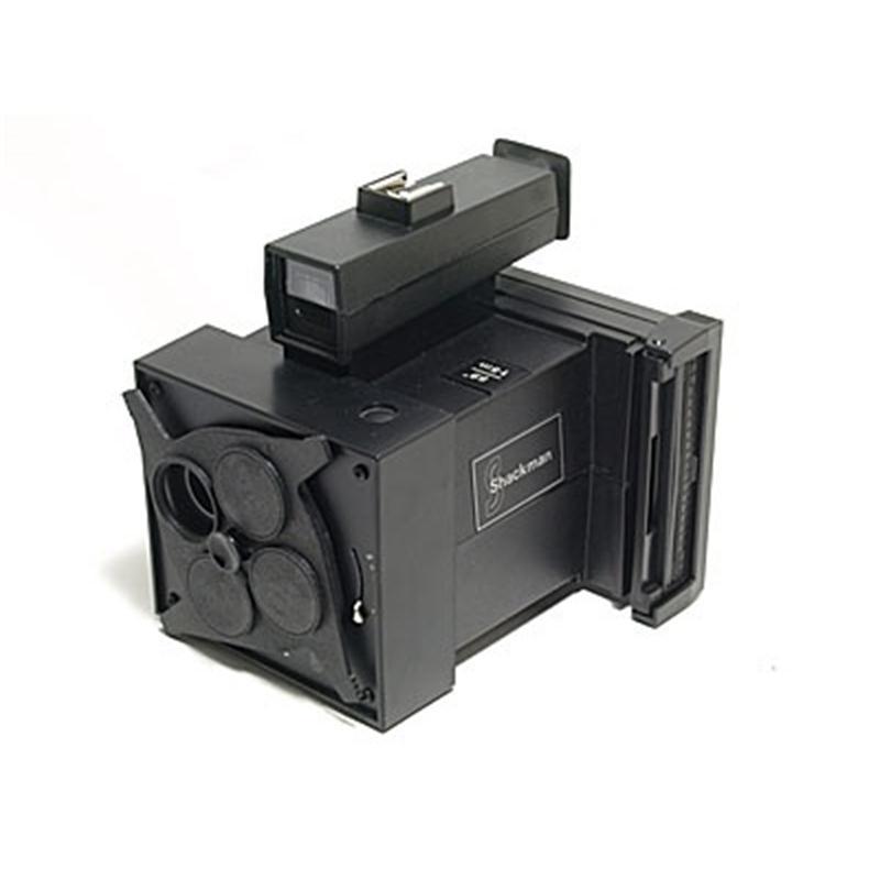 Shackman Multishot 84 Passport Camera (Blue Button) Thumbnail Image 0