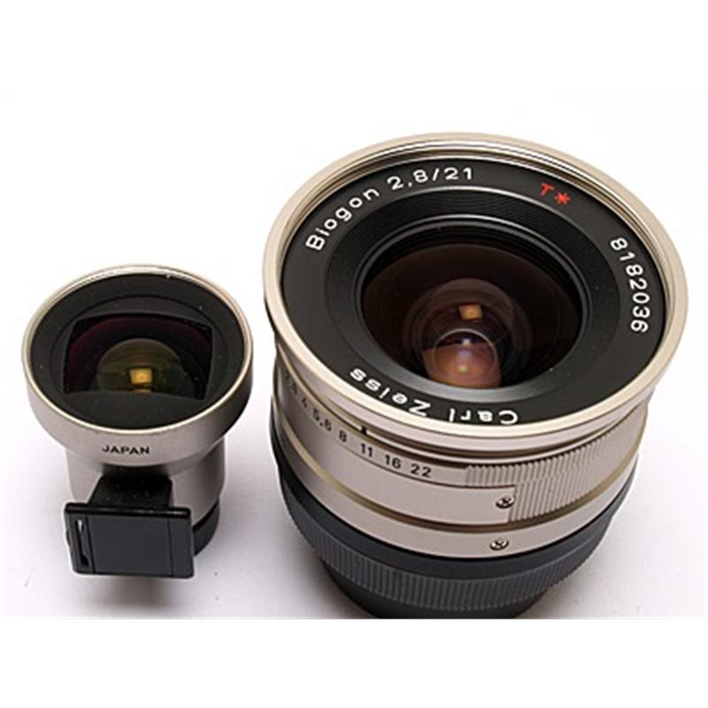 Contax 21mm F2.8 G + Finder Thumbnail Image 1