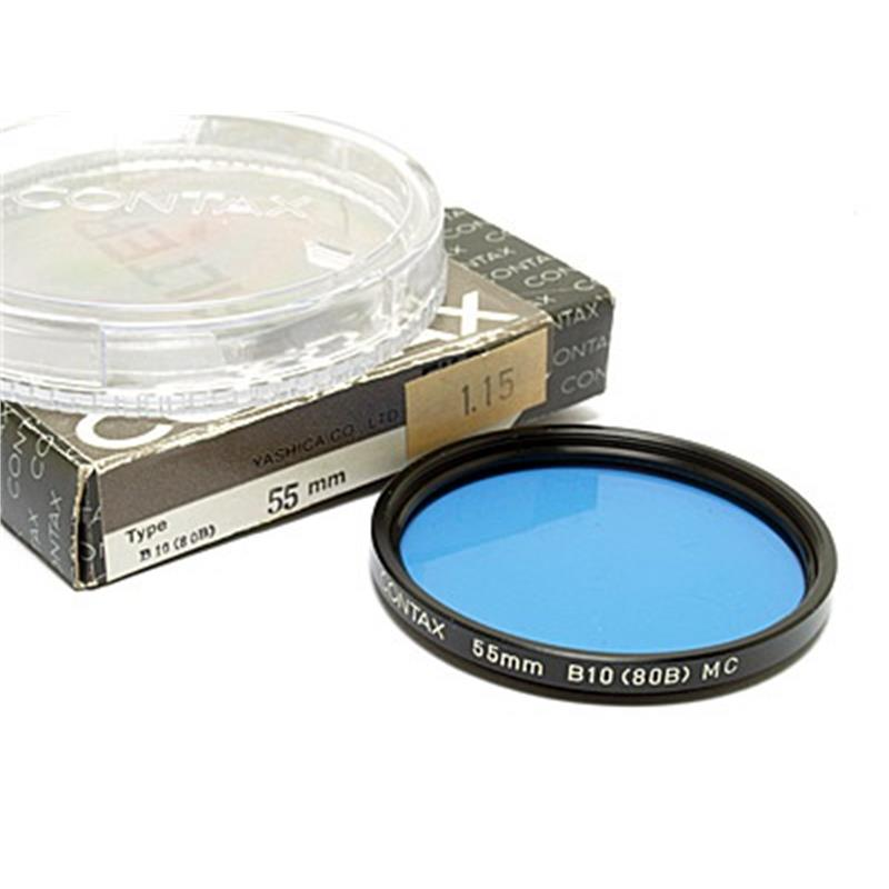 Contax 55mm B10 Blue (80B) Image 1