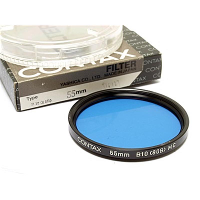 Contax 55mm B10 Blue (80B) Image 1