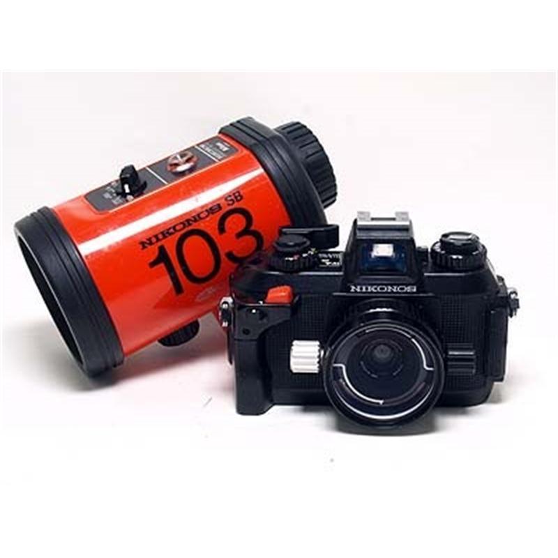 Nikonos IVA + 28mm F3.5 UW + SB103 Flash Thumbnail Image 0