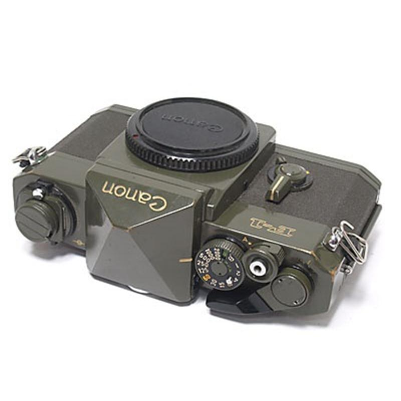 Canon F1 'Olive Drab' Body Only Thumbnail Image 1