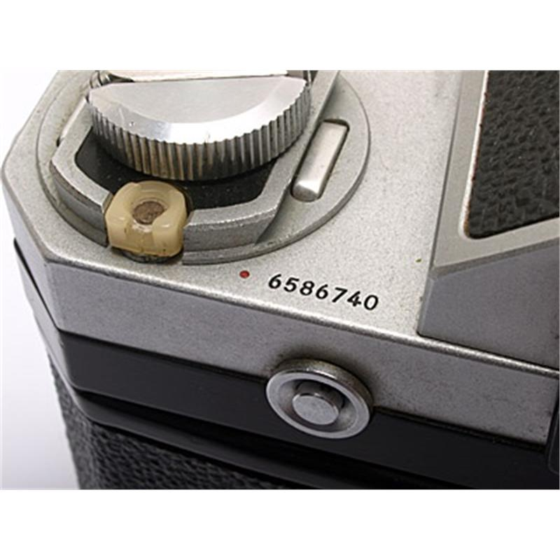 Nikon F 'Red Dot' Chrome Body Only Image 1