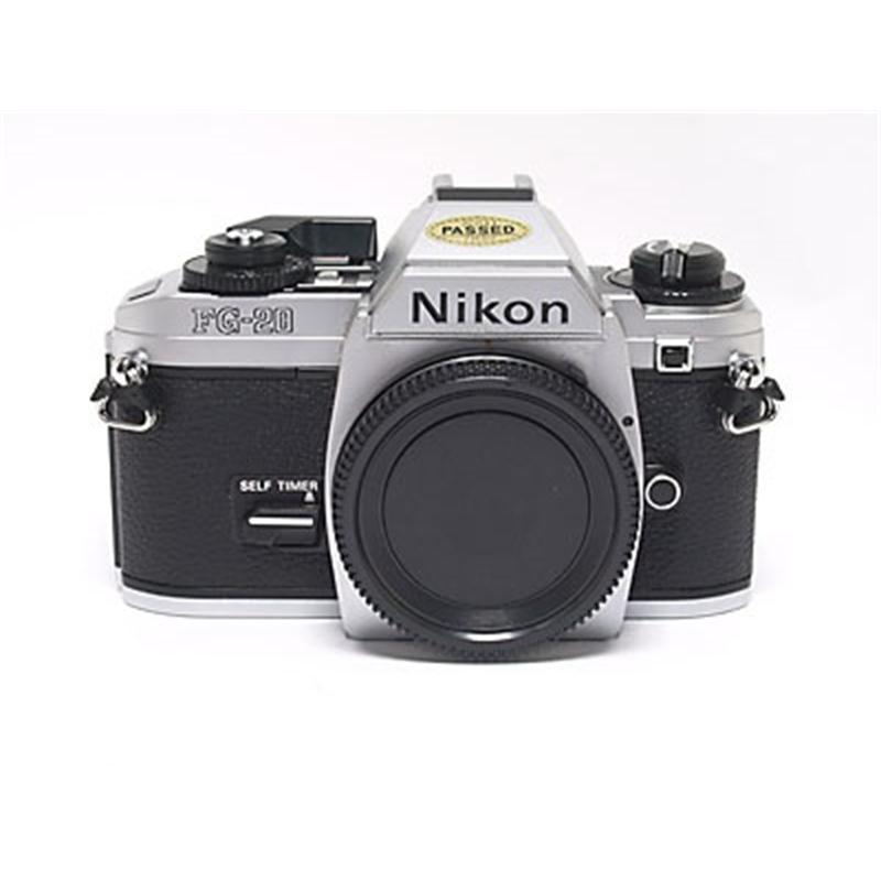 Nikon FG20 Body Only - Chrome Thumbnail Image 2