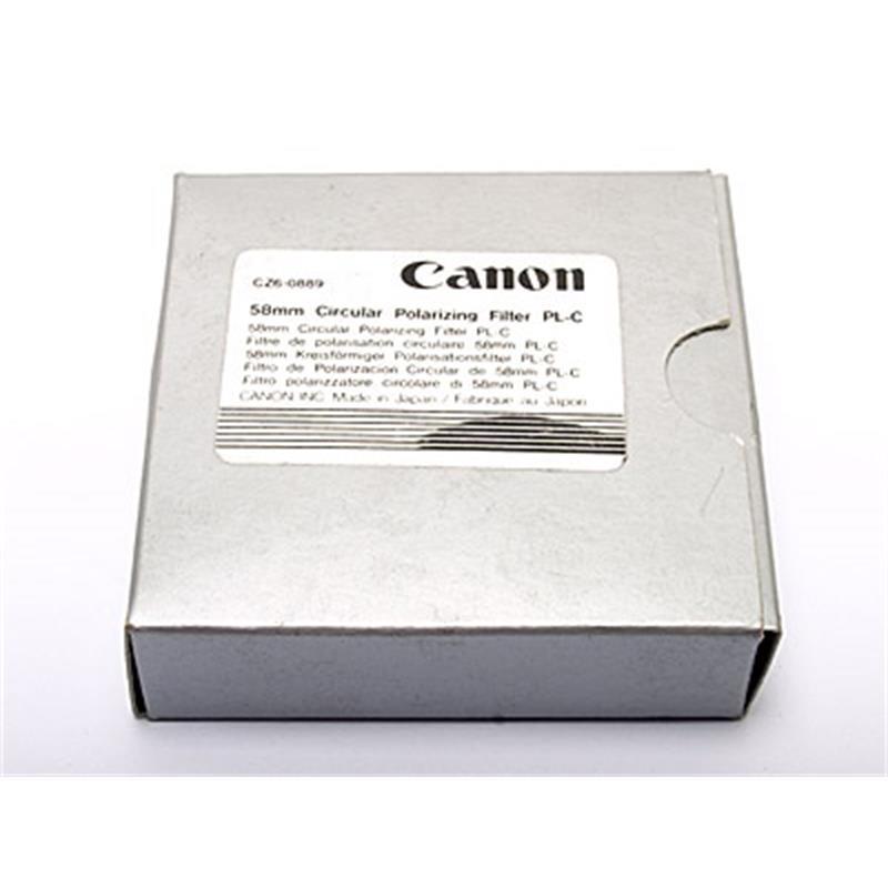 Canon 58mm Circular Polariser Thumbnail Image 1