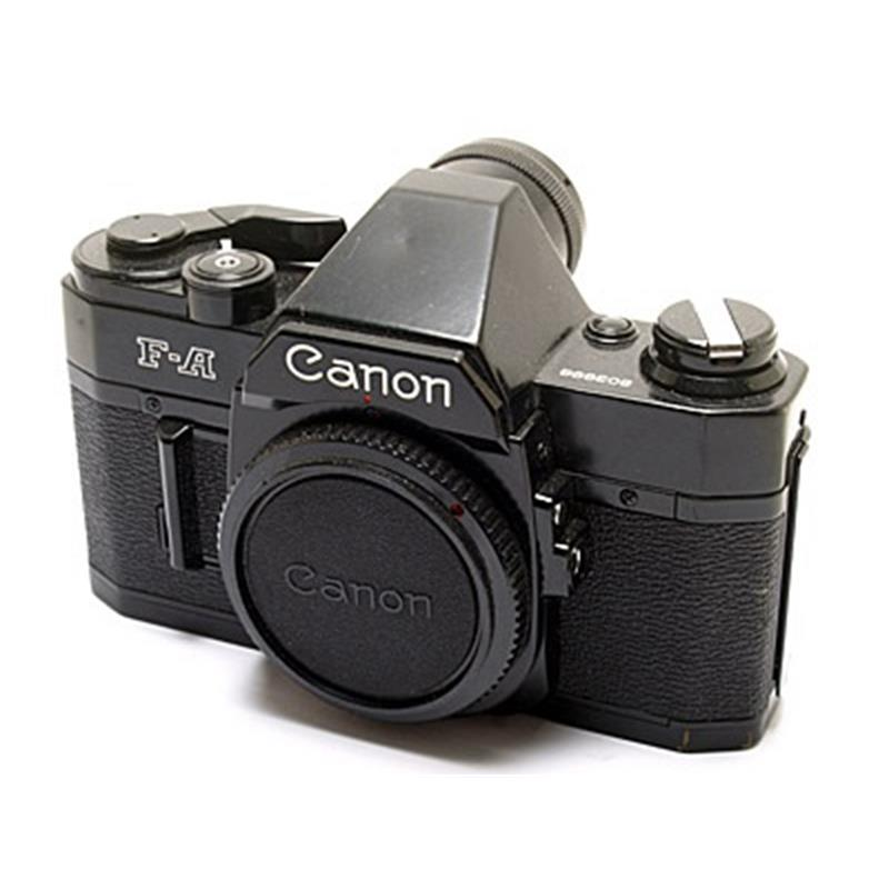 Canon F-A Body Only - Black Thumbnail Image 0