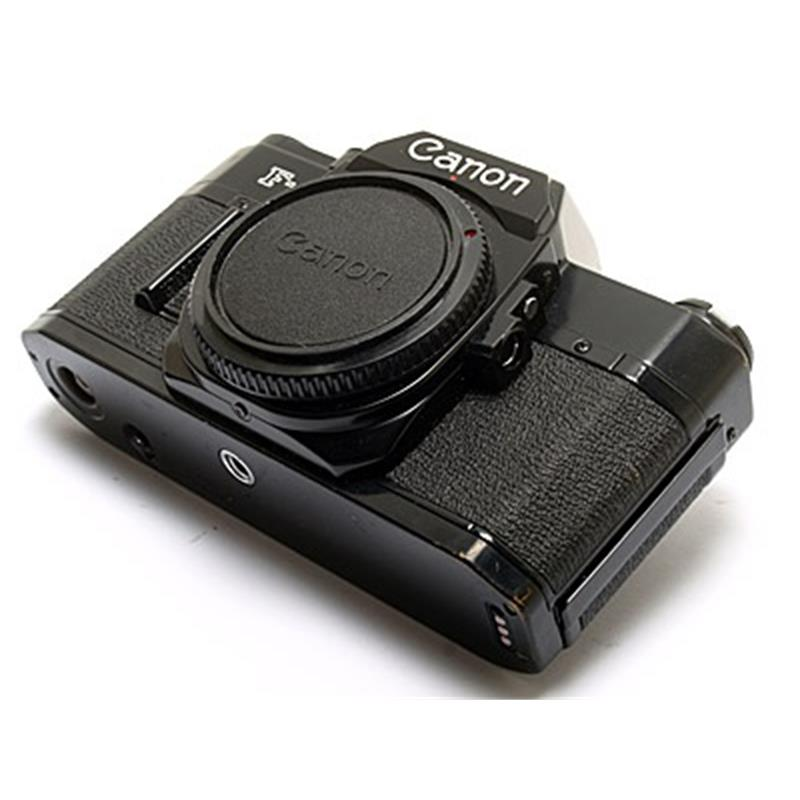 Canon F-A Body Only - Black Thumbnail Image 2