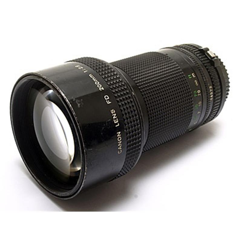 Canon 200mm F2.8 FD Thumbnail Image 2