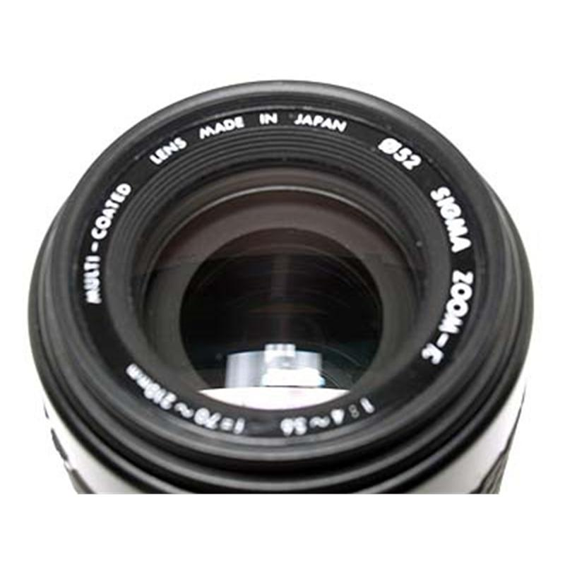 Sigma 70-210mm F4-5.6 - Contax SLR Thumbnail Image 0