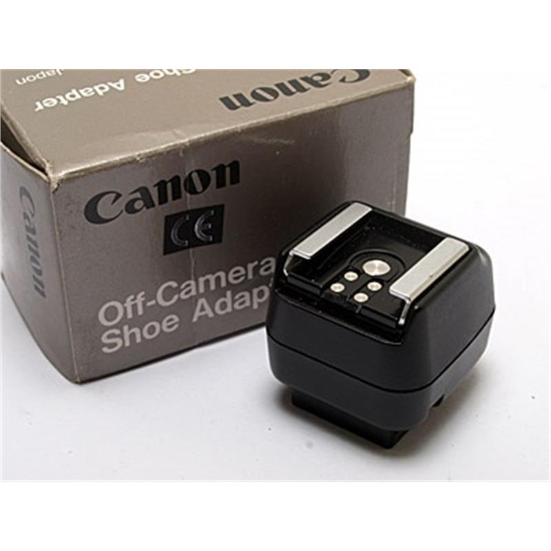Canon Off Camera Shoe Adapter Image 1