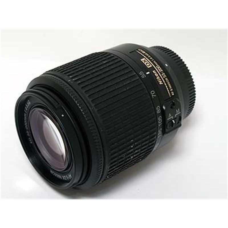 Nikon 55-200mm F4-5.6 AFS DX G Thumbnail Image 1