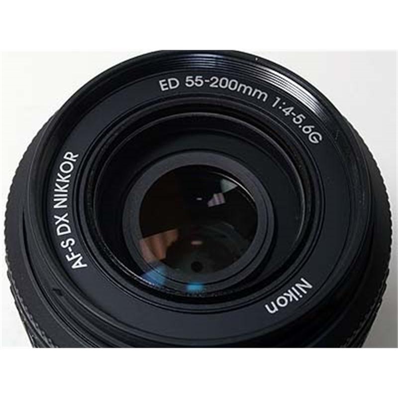 Nikon 55-200mm F4-5.6 AFS DX G Thumbnail Image 0