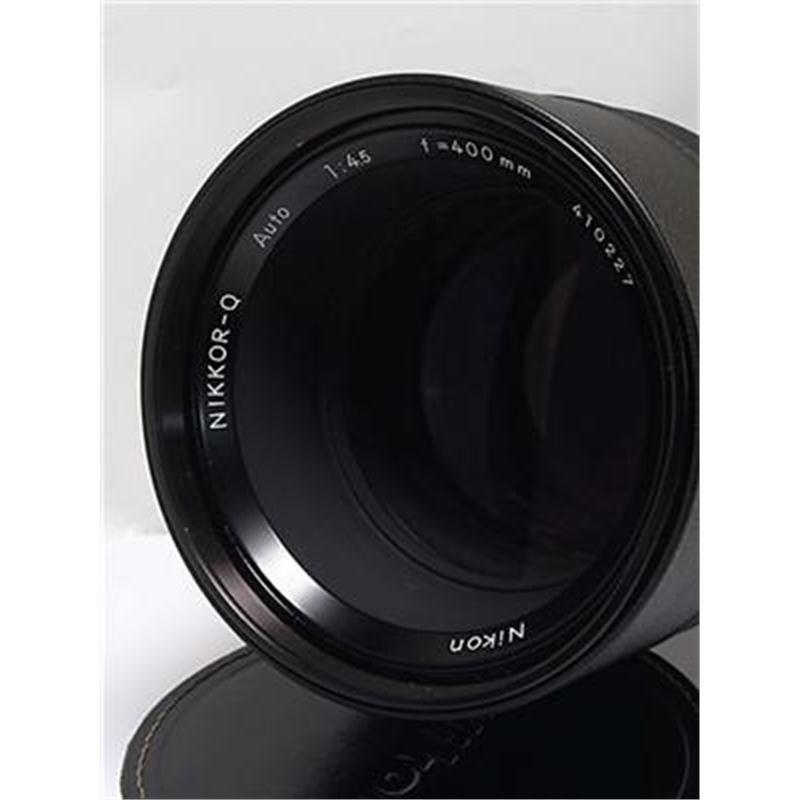 Nikon 400mm F4.5 Nikkor-Q Auto Thumbnail Image 1