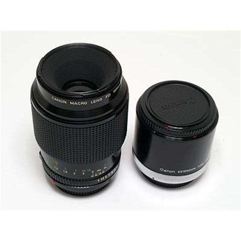 Canon 100mm F4 FD Macro + Tube Thumbnail Image 1